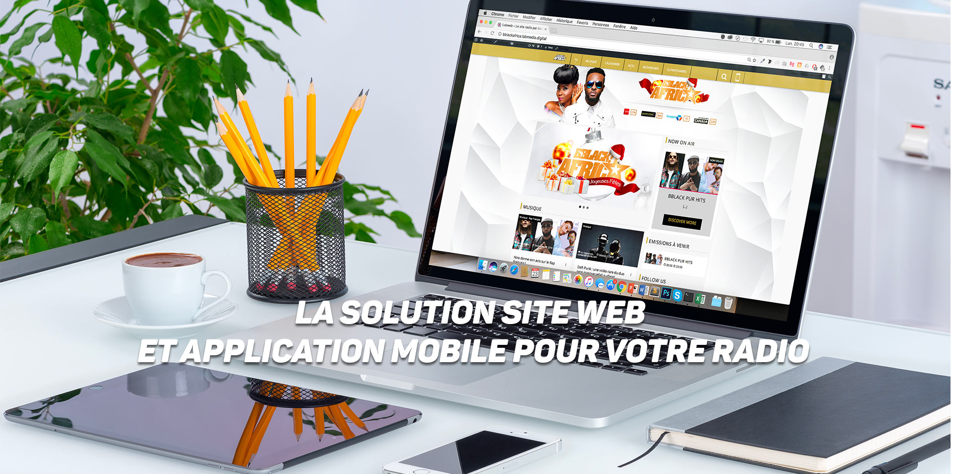 La solution site web et application mobile pour votre radio